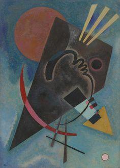 Vasily Kandinsky. Pointed and Round (Spitz und Rund). February 1925 - Guggenheim Museum