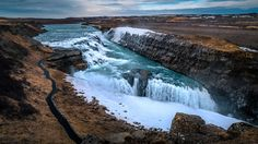 Gullfoss waterfall - Iceland - Travel photography by pixael Iceland Road Trip, Road Trip Europe, Iceland Travel, Road Trips, Gullfoss Waterfall, Romantic Road, Day Trip, Beautiful Landscapes, Tao