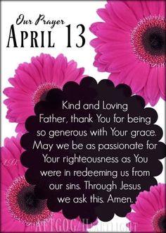 Righteousness, 1 Year, Prayers, Day, Prayer, Beans