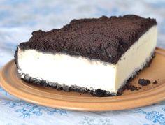 Cheesecake de galletitas oreo y chocolate blanco