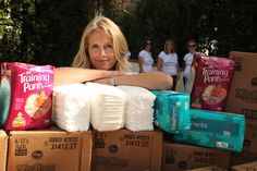 How to host a charity diaper drive. Or any other drive