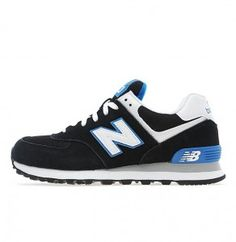 Baratas Mujer New Balance Wl574 Zapatillas Negro Blanco Azul Tienda Online c45da817ca6ae