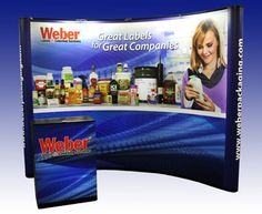Weber Packaging Solutions: New 10' Trade show booth