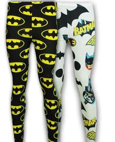 na na na na na na na na bat leggings! I got the white pair