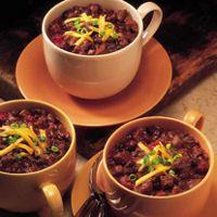 Texas Beef Council - Recipe Book - Quick Beef & Black Bean Chili