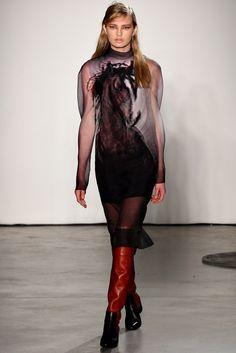 Pedro Lourenço Fall 2012 Ready-to-Wear Fashion Show - Romee Strijd (Viva)