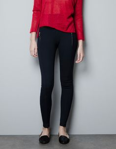 Leggings with Zippers - $39.90