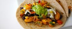 Recipe: Roasted Summer Vegetable Tacos & Spicy Salsa