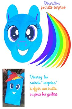 decor_papier My Little Pony Party printables free