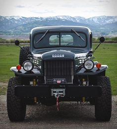 Legacy Power Trucks is a company based in Jackson Hole, Wyoming. They are specialists in producing some serious conversions like this awesome Legacy Power Wagon, a completely modernized version of the Dodge Power Wagon. Their conversions are so popul Cool Trucks, Big Trucks, Pickup Trucks, Small Trucks, Cummins Turbo Diesel, Dodge Cummins, Legacy Power Wagon, Classic Trucks, Classic Cars
