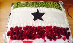 This cake I made for Somaliland's National Day