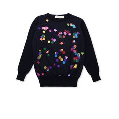 Shop the Midnight Kimberly Jumper  by Stella Mccartney Kids  at the official online store. Discover all product information. Kids Fashion, Fashion Outfits, Fashion Design, Baby Dress Patterns, Stella Mccartney Kids, Kid Styles, Jumpers For Women, Sweater Fashion, Zara