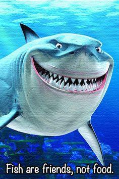 7 Disney Pixar Animal Bruce From Finding Nemo Cartoon Wallpaper Disney Pixar, Disney Films, Disney Villains, Disney Love, Nemo Dori, Goofy Smile, Pixar Movies, Pixar Characters, Hai