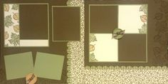 holiday scrapbook layouts - Fall