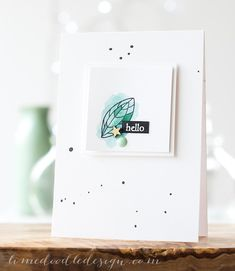Debby Hughes - Lime Doodle Design - Hero Arts