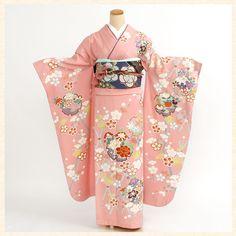 Kimono Japan, Yukata Kimono, Japanese Kimono, Traditional Kimono, Traditional Outfits, Kabuki Costume, Kimono Design, People Illustration, Japanese Outfits