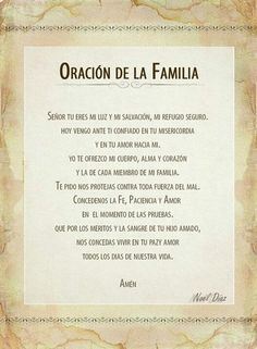 cristianas frases Casual Outfit casual outfits for guys God Prayer, Prayer Quotes, Bible Quotes, Catholic Prayers In Spanish, Prayer For Family, Morning Prayers, Prayer Board, Prayer Warrior, Religious Quotes