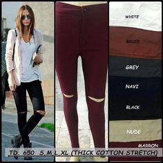 """""Celana jeans HW chanel Material: soft jeans Harga: 145 Size: 27-30  Order PIN CS1-5A1F32FA PIN CS2-5FI5DE72 & SMS/WA 087722-575-101  Reseller & Dropship Welcome!  Happy Shopping! :) #jamtangan #jamtanganwanita #jammurah #grosirjam #swetercouple #flatshoes #jamtanganterbaru #resellerjamtangan #taswanita #sneakerscwe #celanajeansripped #jamtanganartis #olshop #wedgesterbaru #jaketjeans  #resellerwelcome #celanajeans #sepatubandung"
