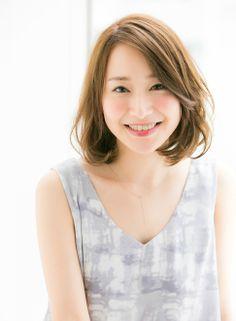 簡単に決まる 大人ミディボブヘア 【Ramie】 http://beautynavi.woman.excite.co.jp/salon/27006 ≪ボブ・ヘアスタイル・bob・hairstyle・髪形・髪型≫