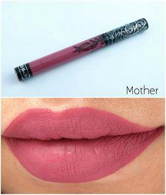 Kat Von D liquid lipstick in 'Mother'