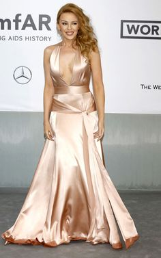 Kylie Minogue opted for a Juan Carlos Obando Spring 2014  [Wenn]