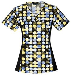 """""""Dots What It Takes"""" in this Cherokee print scrub top! Find it at The Uniform Outlet!"""