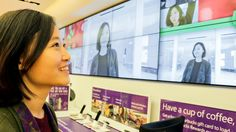 Microsoft revamp retail stores with interactive digital signage.  http://www.avnetwork.com/digital-signage/0003/microsoft-ramps-up-digital-signage-at-its-retail-stores/94455