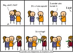 Cyanide and Happiness - Vintage