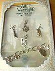 NEW DISNEY COUTURE Alice in Wonderland WHITE SNOW QUEEN Silver Charms BRACELET - Alice, bracelet, charms., Couture, Disney, QUEEN, silver, Snow, White, Wonderland - http://designerjewelrygalleria.com/disney-couture/new-disney-couture-alice-in-wonderland-white-snow-queen-silver-charms-bracelet/