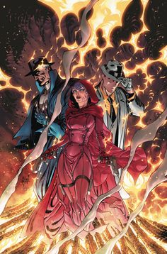 TRINITY OF SIN #1 Written by J.M. DeMATTEIS Art by YVEL GUICHET and JASON GORDON Cover by GUILLEM MARCH On sale OCTOBER 15 • 32 pg, FC, $2.99 US • RATED T Pandora, The Phantom Stranger and The Question have hated each other for centuries…and nothing has changed! Now the Trinity of Sin are forced to work together to save humanity and uncover the darkest secrets of the universe in this new ongoing series!
