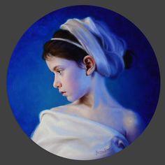 Marina Dieul | OIL | La baigneuse