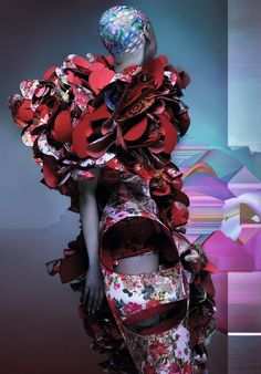 Comme Des Garcons Photography by Nick Knight, Styling by Katie Shillingford