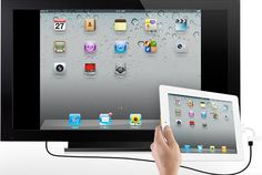 How to Mirror Your iPad Display to Your HDTV   TechHive