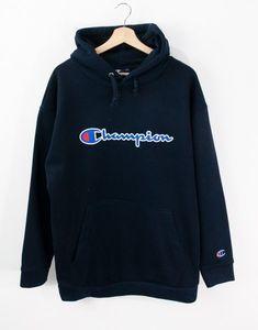 Champion Oversize Kapşonlu Erkek Hoodie MD9869LC Hoodies, Sweatshirts, Sweaters, Fashion, Moda, Fashion Styles, Parka, Trainers, Sweater