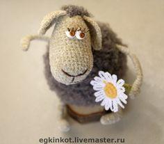"""Игрушки животные, ручной работы. Ярмарка Мастеров - ручная работа Вязаные овечки """"До свидания, Лето!"""". Handmade."""