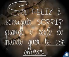 Sobre as características de ser feliz ;)