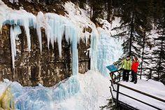 Ice walk on the wild side, Photo Courtesy of Banff Lake Louise Tourism and Paul Zizka Photography