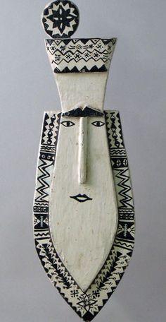Tapuanu mask Mortlock Islands, Federal States of Micronesia African Masks, African Art, Art Premier, Art Sculpture, Arte Popular, Clay Masks, Objet D'art, Ocean Art, Art Plastique