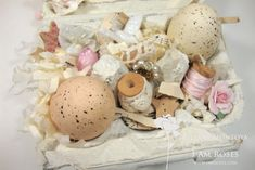 ILuvVintageScrap: Shabby Chic Easter Egg Boxes