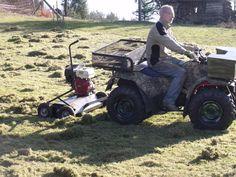 Vertikutieren mit ATV