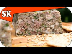 How to Make Brawn - Head Cheese - Fromage de Tête - Meat Series 03 Cheese Recipes, Pork Recipes, Cooker Recipes, Hogshead Cheese Recipe, Beef Goulash, Ground Meat Recipes, Sour Soup, Pork Dishes, Rice