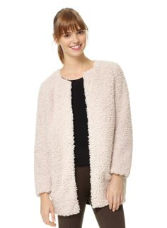 Wilfred Laboratoire Coat, now available at Aritzia.com. #sherpa