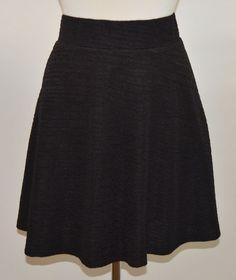 COC Womens Black Polyester Blend Skirt 3 XL NWT #COC #AbovetheKnee