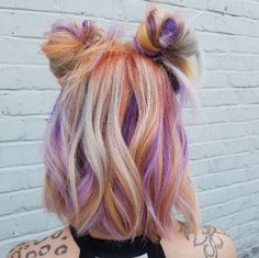 Inspiring Pastel Hair Color Ideas – My hair and beauty Bright Hair, Colorful Hair, Unicorn Hair, Dye My Hair, Grunge Hair, Mermaid Hair, Crazy Hair, Hair Inspiration, Short Hair Styles