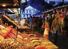 Barcelona. La Boqueria Market. Picture by Lluís Carro