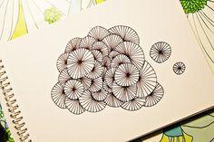 Skagerak: DIY - Draw a pattern # 1 by Søhesten aka Trine.  Finished example.