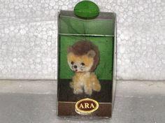 ARA Austria Lion Cub Wool POCKET Pet Vintage by TTownPickers, $9.00