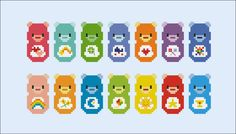 Care Bears - Mini People - Pattern by CloudsFactory