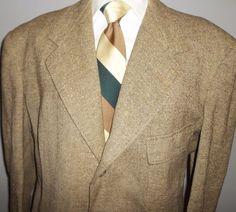 Vintage 1960s Men's Madras Plaid Sport coat. Blazer Sportcoat Suit ...