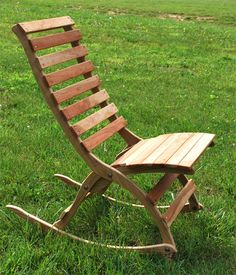 Item #LFR Large Folding Rocking Chair $160.00 This fabulous rocker is made in the same enduring style as our small rocking chair, It's just made with a taller person in mind. If you're …